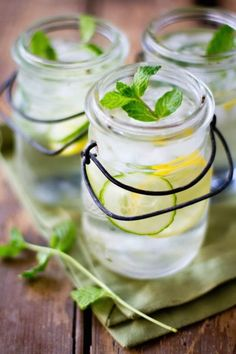 Refreshing Lemon Mint Cucumber Water recipe
