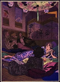 Smoking Opium in Paris
