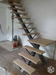 Resultado de imagen para interior single tread metal stairs