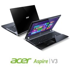Acer Aspire V3 551 8469 15.6 Inch Laptop (Midnight Black)