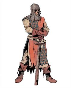 Main character concept for a medieval horror/fantasy comic I'm developing. Fantasy Character Design, Character Design Inspiration, Character Concept, Character Art, Concept Art, Dungeons And Dragons Characters, D D Characters, Fantasy Characters, Fantasy Armor