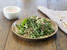 Chicken, Asparagus and Lentil Salad - Maggie Beer