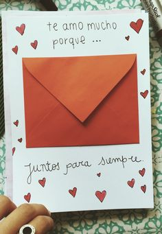 Te amo porque #sobre #carta #razones Love Gifts, Gifts For Boys, Gifts For Friends, Gifts For Him, Diy Gifts, Diy Birthday, Birthday Gifts, Diy And Crafts, Crafts For Kids