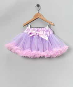 Take a look at this Lavender & Light Pink Pettiskirt - Toddler & Girls by Miss Fancy Pants on #zulily today!