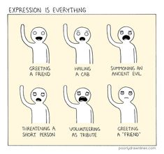 Expression is everything