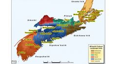These are just a few of the Mi'kmaq place names in Nova Scotia.