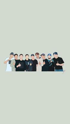 Exo Wallpaper Hd, Aesthetic Desktop Wallpaper, Anime Scenery Wallpaper, Wallpaper Iphone Cute, Wallpaper Backgrounds, Lightstick Exo, Exo Kai, Exo For Life, Exo Anime
