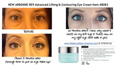 I suffer from swollen eyes every morning, NOT ANYMORE! I am SO IN LOVE with this NEW Arbonne Lifting & Contouring Eye Cream! This is the 2nd time I have used it! You have to see the difference it makes!!!