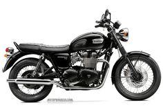 TRIUMPH Bonneville T100 Black 2015 http://www.motoprogress.com