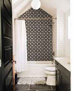 Bold Bathroom Tile