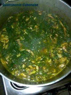 Huuuum un plat de mon ethnie, Poisson fumé au Nkumu, hummmm tellement boooon! classé parmi le top 10 de la gastronomie gabonaise!