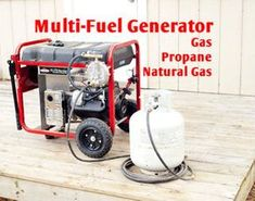 Multi-Fuel Generator - Gas Propane NG : 12 Steps (with Pictures) - Instructables Tri Fuel Generator, Propane Generator, Diy Generator, Homemade Generator, Biogas Generator, Natural Gas Generator, Emergency Generator, Portable Generator, Homestead Survival