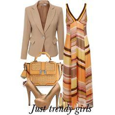 maxi dress with blazer 6 d