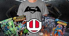 Worlds Finest News | Batman v Superman T-Shirt and Autographed Comics Now Available