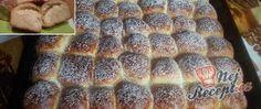 Recept Tvarohové buchtičky od babičky - fotopostup Banana Bread, Sweet Tooth, Gluten Free, Baking, Advent, Cupcake, Basket, Fine Dining, Challah