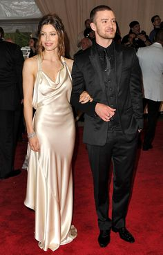 Couture Couples! The Most Fashion-Forward Duos to Hit the Met Gala | People - Jessica Biel and Justin Timberlake