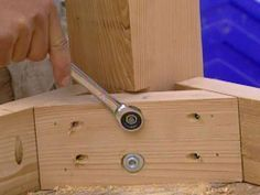How To Attach The Skirt Frame Table Legs For Reclaimed Wood