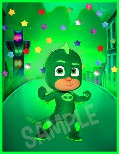 Pj Masks Wall Art Pj Masks Kids Poster Decor Pj by HappyKidsPrint