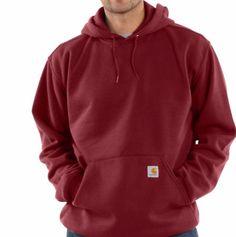 Carhartt Men's Midweight Hoodie Dark Red Size Small NWT #Carhartt #Hoodie