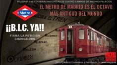 Patrimonio Industrial Arquitectónico: Recogida de firmas para declarar Metro de Madrid como Bien de Interés Cultural, en categoría de Conjunto Histórico. Las Cocheras de Cuatro Caminos. http://patrindustrialquitectonico.blogspot.com.es/2014/11/recogida-de-firmas-para-declarar-metro.html