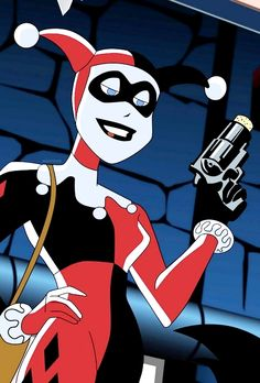 """Knock, knock, Puddin'. Say hello to your new, improved Harley Quinn."""
