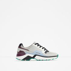 ZARA - WOMAN - MULTICOLORED SNEAKERS