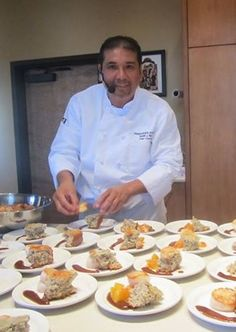 Martin Rios of Restaurant Martin put beauty on the plate at our 2013 Santa Fe Wine and Chile Fiesta event.