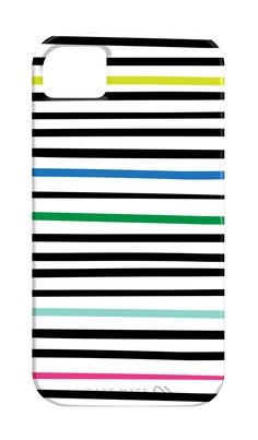 iPhone 4 or 5 case - Colored Pencil Stripe. $39.00, via Etsy.