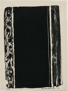 Barnett Newman, Untitled, 1961.  Art Experience NYC  www.artexperiencenyc.com/social_login/?utm_source=pinterest_medium=pins_content=pinterest_pins_campaign=pinterest_initial