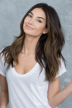 Color and cut- maybe chop it off when the little one arrives. Lily Aldridge