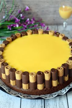 Italienische Sandwich-Torte – My TOrt Pumpkin Pie Recipes, Pumpkin Cheesecake, Cake Recipes, Dessert Recipes, Easy Brunch Recipes, Easter Recipes, Chocolate Desserts, Vegan Desserts, Desserts With Biscuits