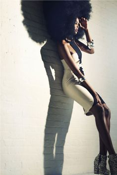 Blooming Afro! Ubah by Catherine Westergaard with fashion editor Mia Tucker Williams