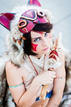 San - princess mononoke #AX2014 #cosplay