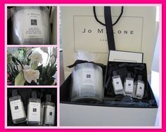 Jo Malone Candles and perfume, my favourite is Lime, Basil and Mandarin, it smells divine!