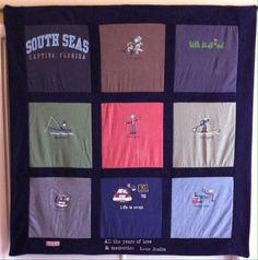 """""""Life is Good"""" T-shirt Quilt"""