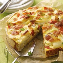 Light Provencal quiche WW, recipe of a delicious light quiche with . Weight Watchers Snacks, How To Cook Pasta, How To Cook Chicken, Cooking Cake, Cooking Recipes, Quiches, How To Make Hamburgers, Cooking Quotes, Cooking For Beginners