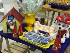 Festa da patrulha canina: dicas e inspirações! Clique agora! #festainfantil #festadapatrulhacanina #patrulhacanina #pawpatrol #pawpatrolparty #festapersonalizada Birthday Candles, Ideas Party, Friendship