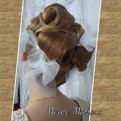 Peinado clásico romantico