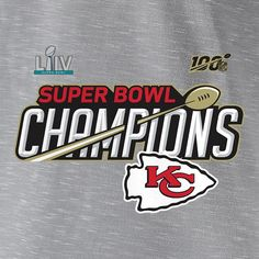 Kansas City Chiefs NFL Pro Line by Fanatics Branded Super Bowl LIV Champions Trophy Collection Locker Room T-Shirt - Heather Gray Champions Trophy, Nfl Pro, Kansas City Chiefs, Heather Gray, Super Bowl, Lockers, Room, T Shirt, Collection