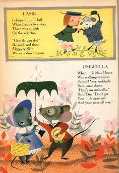 The Golden Book of Little Verses by Miriam Clark Potter, illustrated by Mary Blair