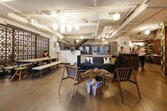 <p>New office design creates the opportunity for chance meeting and quick…