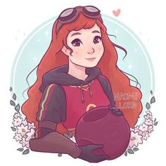 ❤️✨ I thought it was appropriate to draw her in her Quidditch gear haha 😂💕 What Harry Potter lady would you like to see… Ginny Weasley, Weasley Harry Potter, Harry Potter Facts, Harry Potter Fan Art, Harry Potter Movies, Hermione Granger, Harry Potter Illustrations, Harry Potter Drawings, Lalaloopsy