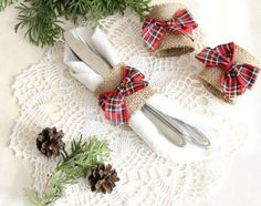 christmas napkin rings on sale - Google Search