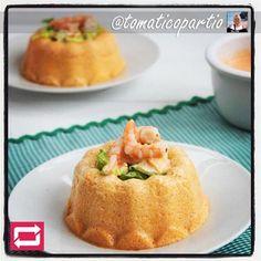 Este delicioso Pastel Frio de Salmón Dukan se prepara en menos de 20 minutos y sin horno.