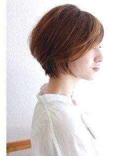 可愛すぎる♥前下がりショート・ボブ♥髪型画像まとめ - NAVER まとめ Girl Short Hair, Short Hair Cuts, Short Hair Styles, Short Hairstyles 2015, Cabello Hair, Mint Hair, Aesthetic Hair, Hair Styles 2016, Hair Looks