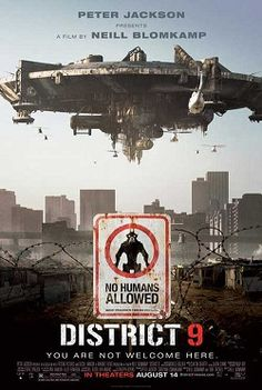 From producer Peter Jackson and director Neill Blomkamp comes a startlingly original science-fiction thriller where alien refugees, stranded on Earth, are exiled to a slum on the fringes of Johannesburg. Fiction Movies, Pulp Fiction, Science Fiction, Movie Titles, Film Movie, Movie Posters, Movie Plot, Jackson, Peliculas Audio Latino Online