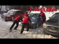 This winter Europe suffered from some severe snow blizzards. In Bulgaria, the local agency Noble Graphics, thought of a great way to promote the brand Audi using the weather conditions. They sent of 4 guys, representing the Audi Quatro team and let them push all stuck cars. That way people got to know the Audi system in a completely different way..