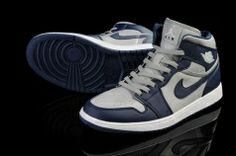 best website fa794 da30f Nike Air Jordan 1 High 2014 Grey Blue Mens athletic shoes nike sneakers  Regular Price