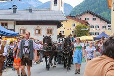 Freizeitaktivitäten im Salzburger Saalachtal. Street View, Hiking, Vacation