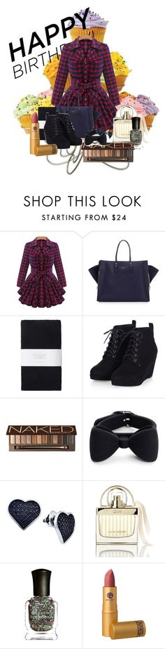 """""""Birthday With My Girls"""" by ggmusicista on Polyvore featuring Balenciaga, Toast, Urban Decay, Marc by Marc Jacobs, BillyTheTree, Chloé, Deborah Lippmann, Lipstick Queen, women's clothing and women"""